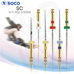 Limas Rotatórias SC NiTi 25mm